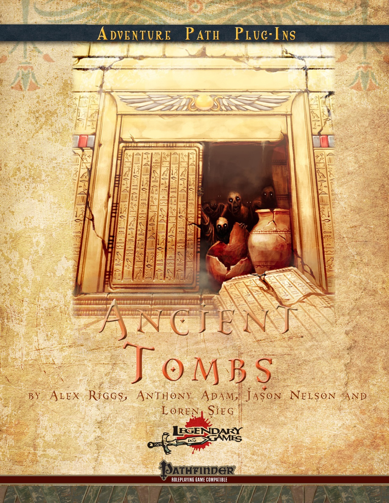 Ancient Tombs (PFRPG) PDF