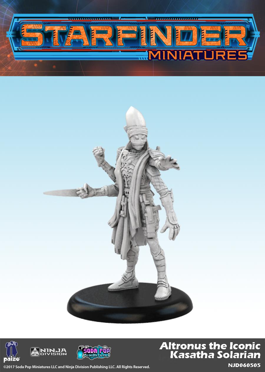 Paizo Com Starfinder Masterclass Miniatures Altronus