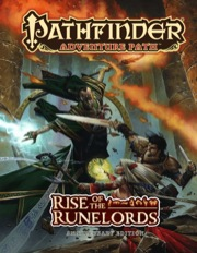 Rise of the Runelords Adventure Path Anniversary Edition (T.O.S.) -  Paizo Publishing