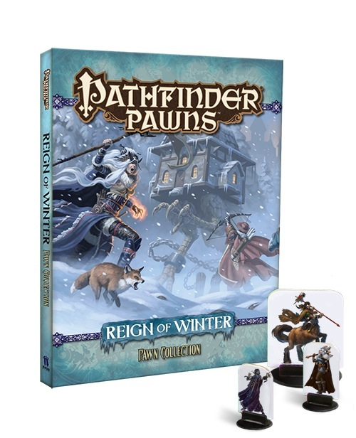 Pathfinder Pawns: Reign of Winter Adventure Path - Library