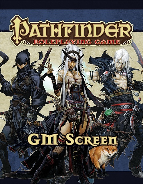 paizo.com - Pathfinder Roleplaying Game GM Screen—Alternate Cover (OGL) Print Edition