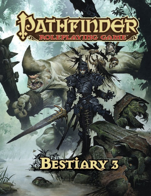 Pathfinder Bestiary 3 -  Paizo Publishing