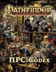 Pathfinder RPG NPC Codex -  Paizo Publishing