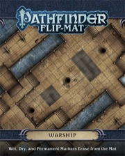 Paizo Publishing: Pathfinder Flip-Mat: Warship