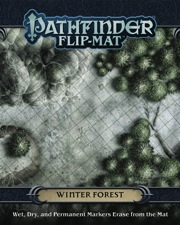 Pathfinder Flip-Mat: Winter Forest -  Paizo Publishing
