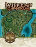 Pathfinder Chronicles: Curse of the Crimson Throne Map Folio