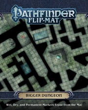 Bigger Dungeon: Pathfinder Flip-Mat -  Paizo Publishing