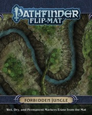 Forbidden Jungle: Pathfinder Flip-Mat -  Paizo Publishing