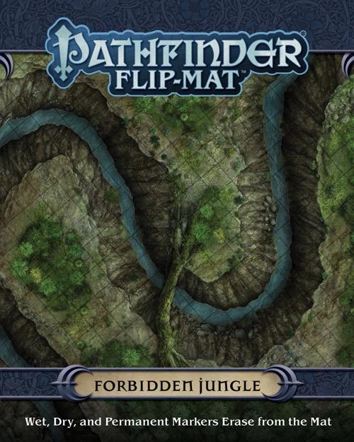 Pathfinder flip mat forbidden jungle for Portent relic