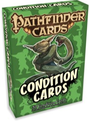 Game Mastery Condition Cards (T.O.S.) -  Paizo Publishing