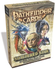 Paizo Publishing: Shattered Star Face Cards