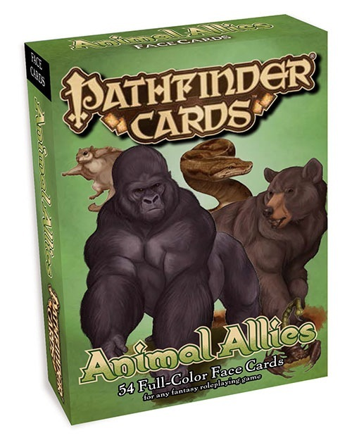 paizo.com - Pathfinder Cards: Animal Allies Face Cards