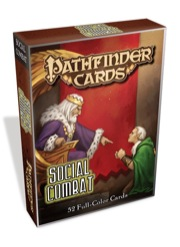 Paizo Publishing: Social Combat Deck: Pathfinder RPG
