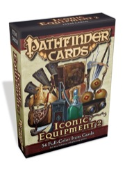 Paizo Publishing: Iconic Equipment 2 Deck: Pathfinder Campaign Cards
