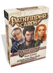 Paizo Publishing: Pathfinder Cards: Society Face Cards