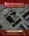 City Streets: Pathfinder Flip-Mat Classics (T.O.S.) -  Paizo Publishing