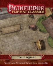 Town Square: Pathfinder Flip-Mat Classics (T.O.S.) -  Paizo Publishing