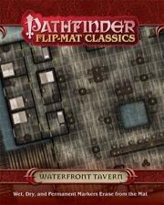 Waterfront Tavern: Pathfinder Flip-Mat Classics -  Paizo Publishing