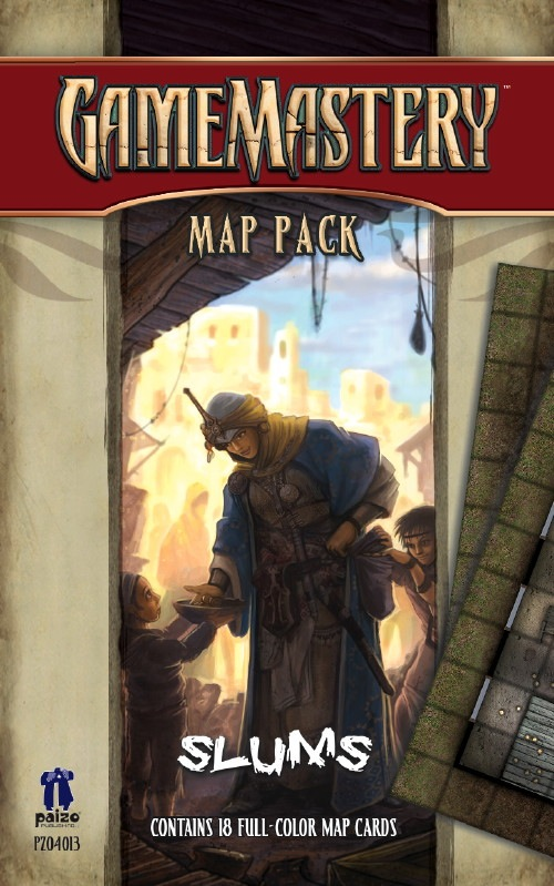 Campaign Map Pack: Slums (T.O.S.) -  Paizo Publishing