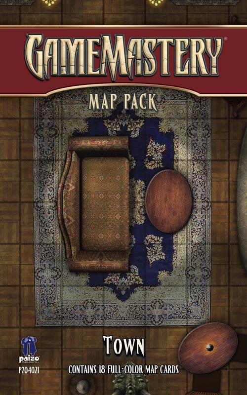 Paizo Com Gamemastery Map Pack Town