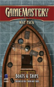 GameMastery Map Pack: Boats & Ships