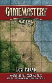 Lost Island: Game Mastery Map Pack (T.O.S.) -  Paizo Publishing
