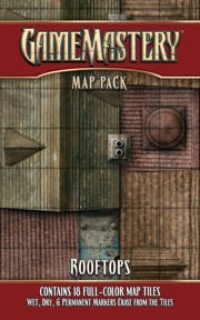 Rooftops: Game Mastery Map Pack (T.O.S.) -  Paizo Publishing