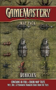 GameMastery Map Pack: Vehicles