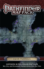 Pathfinder Map Pack: Cave Tunnels
