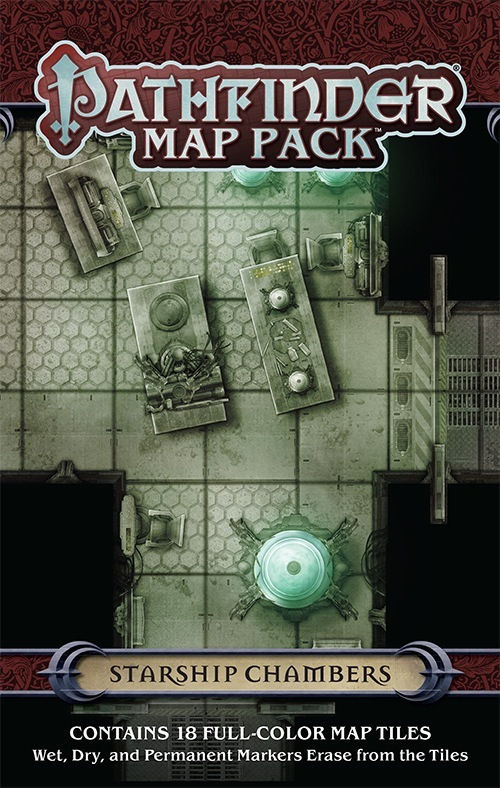 paizo.com - Pathfinder Map Pack: Starship Chambers