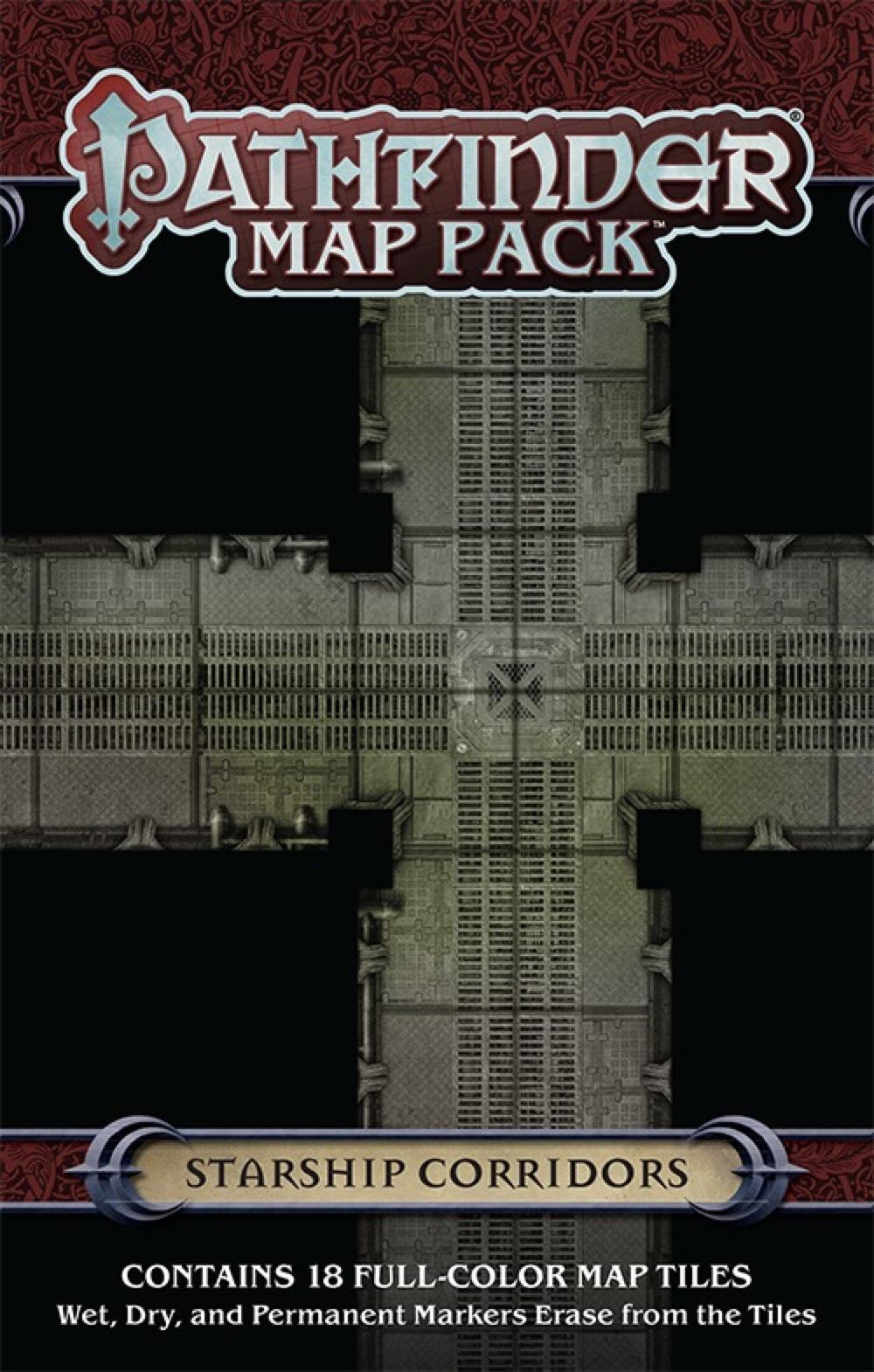 Paizo Com Pathfinder Map Pack Starship Corridors