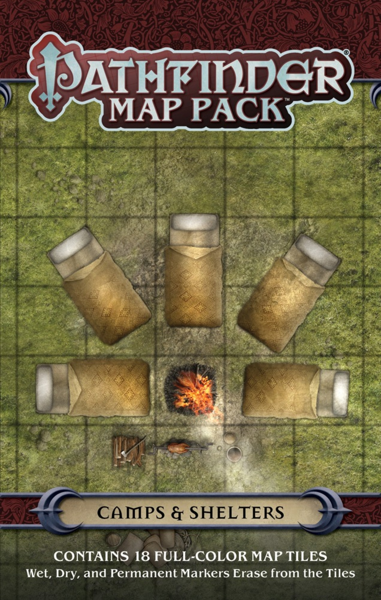 Paizo Com Pathfinder Map Pack Camps Amp Shelters