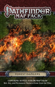 Forest Dangers: Map Pack -  Paizo Publishing