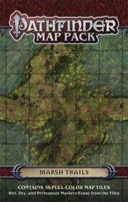 Marsh Trails: Pathfinder Map Pack -  Paizo Publishing