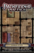 Pathfinder Map Pack: Urban Sites