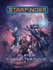 Starfinder Player Character Folio - Paizo Publishing