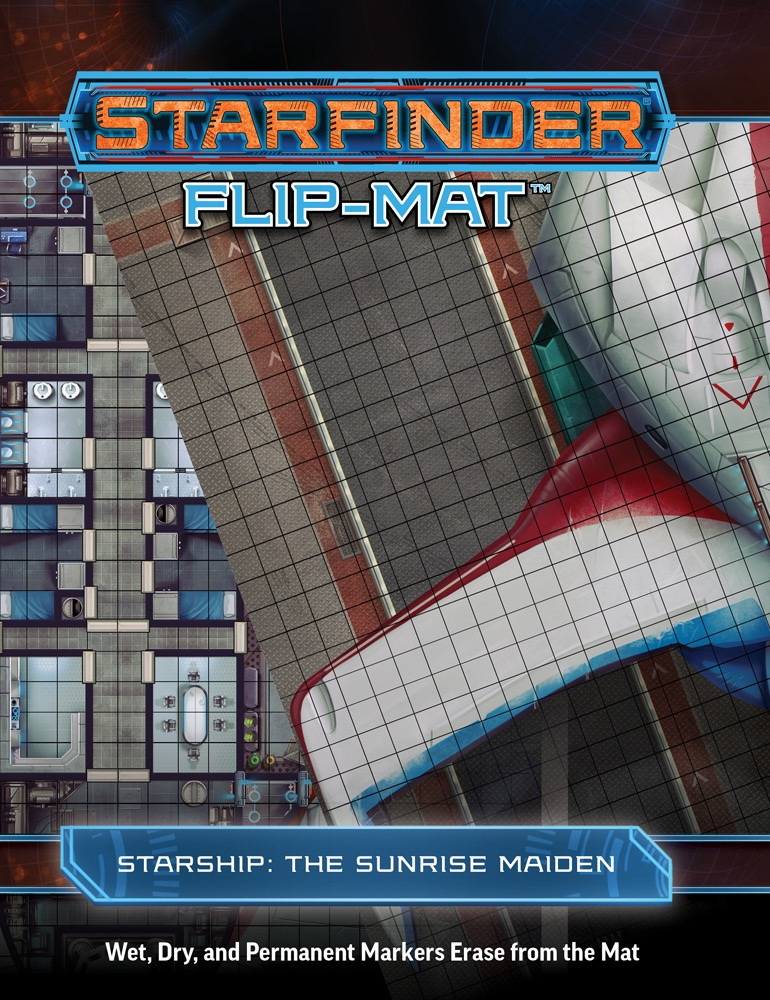 Paizo Com Starfinder Flip Mat The Sunrise Maiden