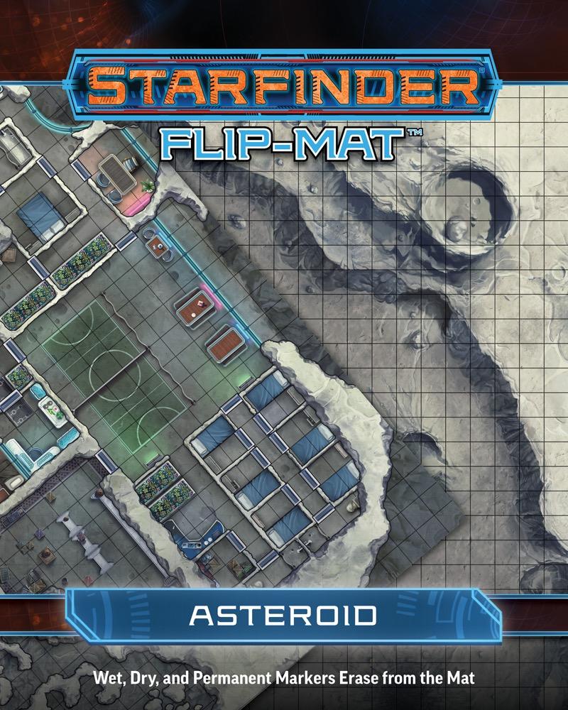 Paizo Com Starfinder Flip Mat Asteroid