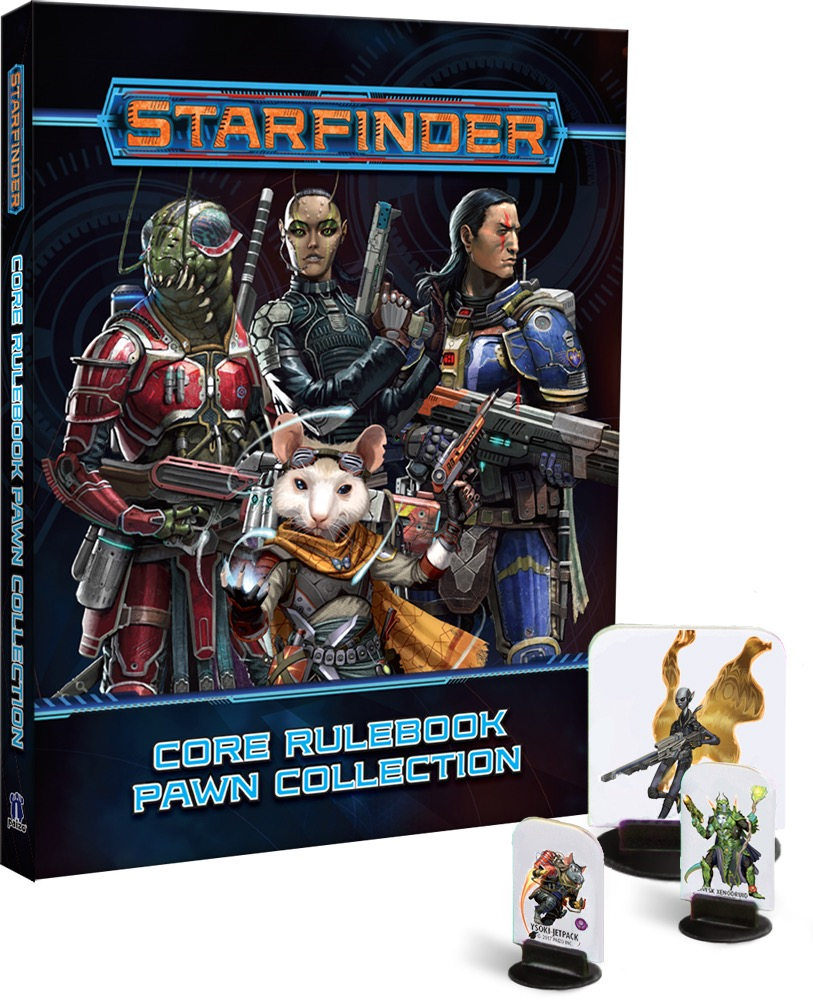 Paizo Com Starfinder Core Rulebook Pawn Collection