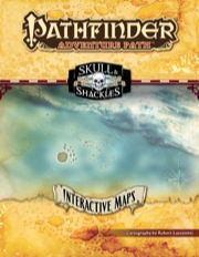 Pathfinder Adventure Path: Skull & Shackles Interactive Maps PDF
