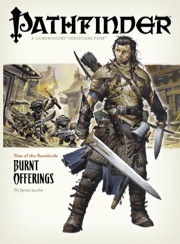 Cover of Pathfinder Adventure Path #1: Burnt Offerings (Rise of the Runelords 1 of 6)
