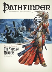 Cover of Pathfinder Adventure Path #2: The Skinsaw Murders (Rise of the Runelords 2 of 6)