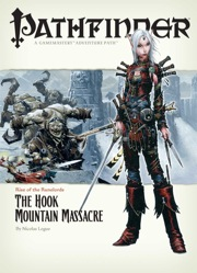 Cover of Pathfinder Adventure Path #3: The Hook Mountain Massacre (Rise of the Runelords 3 of 6)