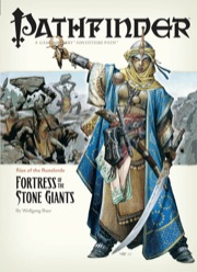 Cover of Pathfinder Adventure Path #4: Fortress of the Stone Giants (Rise of the Runelords 4 of 6)