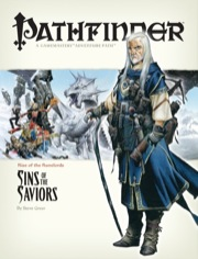 Cover of Pathfinder Adventure Path #5: Sins of the Saviors (Rise of the Runelords 5 of 6)