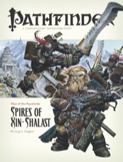 Cover of Pathfinder Adventure Path #6: Spires of Xin-Shalast (Rise of the Runelords 6 of 6)