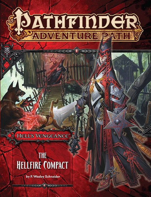 Cover of Pathfinder Adventure Path #103: The Hellfire Compact (Hell's Vengeance 1 of 6)