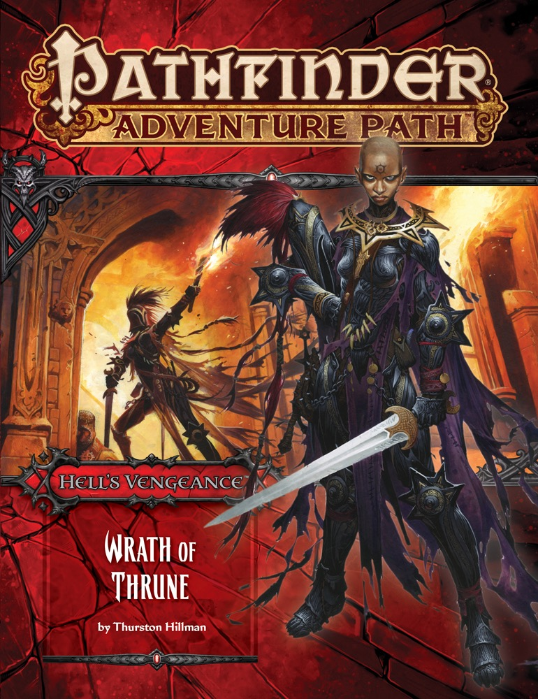 Cover of Pathfinder Adventure Path #104: Wrath of Thrune (Hell's Vengeance 2 of 6)