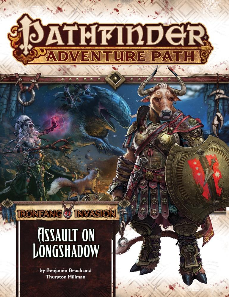 Assault on Longshadow: Ironfang Invasion 3 of 6: Pathfinder Adventure Path 117 -  Paizo Publishing