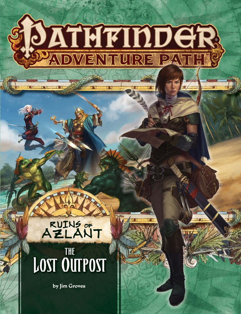 Cover of Pathfinder Adventure Path #121: The Lost Outpost (Ruins of Azlant 1 of 6)